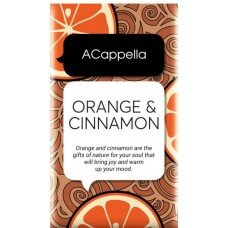 ACappella Orange and Cinnamon