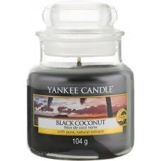 """Ароматическая свеча """"Черный кокос"""""""