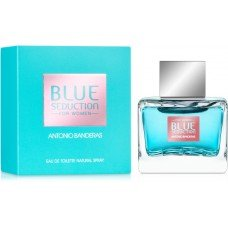 Blue Seduction Antonio Banderas woman