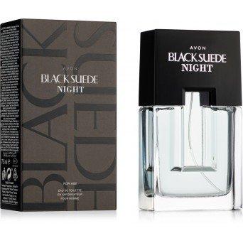 Avon Black Suede Night