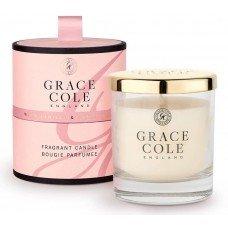 """Ароматизированная свеча """"Теплая ваниль и сандаловое дерево"""""""