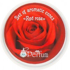 Арома-конусы с ароматом красной розы