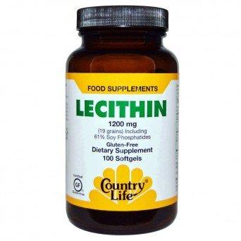 """Капсулы Lecithin Country Life """"Лецитин Кантри Лайф"""""""