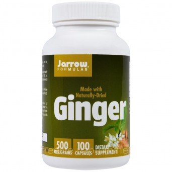 Капсулы с имбирем Ginger Jarrow Formulas