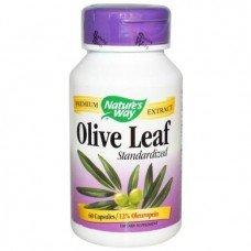 Витамины Оливковые листья, стандартизированные Nature's Way