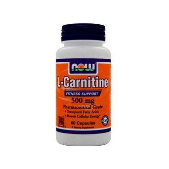 Касулы L-карнитин NOW Foods L-Carnitine
