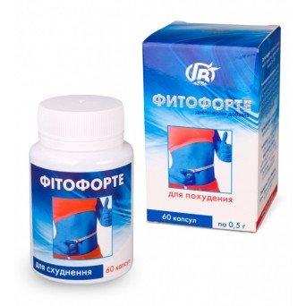 ФИТОФОРТЕ «Для похудения», Грин Виза, 60 капсул