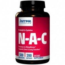 Капсулы N-ацетил-L-цистеин Jarrow Formulas
