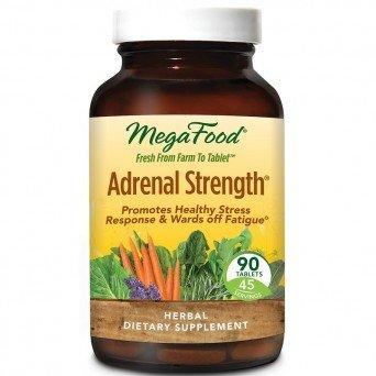 Поддержка надпочечников, Adrenal Strength, MegaFood №90