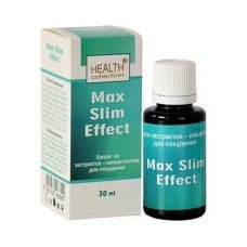 Капли для похудения Max Slim Effect  Health Collection 30 ml