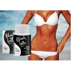 Black Latte кофе на основе угля для эффективного похудения