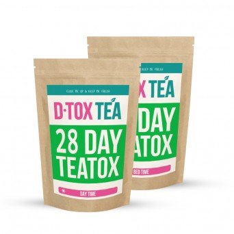 Детокс 28 дней чай для похудения D•TOX TEA