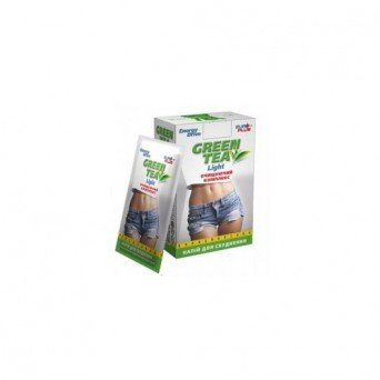"""Зеленый чай напиток для похудения растворимый лайт """"Energy drive"""" №10"""
