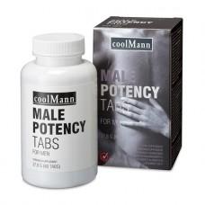 Для потенции пищевые добавки COOLMANN MALE POTENCY TABS