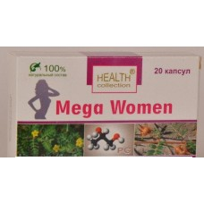 """Капсулы для повышения либидо Health Collection Mega Women """"Мега Вумен"""""""