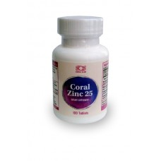 Капсулы Coral Zinc 25 Корал Цинк №100